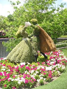 Flower and Garden show Epcot 2010. Anyone who loves gardens should try to go to this- it's there every spring & so great!