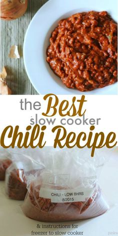 Best Chili Recipe - It really is the BEST! - PinkWhen Best Chili Recipe - It really is the BEST! - PinkWhen Literally the best chili recip. Best Chili Recipe, Chilli Recipes, Beef Recipes, Cooking Recipes, 2 Hour Chili Recipe, Stove Top Chili Recipe, Thick Chili Recipe, Cooking Tips, Cooking Lamb