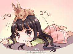 堆糖 发现生活_收集美好_分享图片 Kawaii Anime, Cute Anime Chibi, Kawaii Chibi, Anime Girl Cute, Manga Anime, Moe Anime, Manga Girl, Anime Art, Cute Characters
