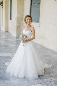 Timeless bridal portrait at Corfu St Michael Palace while an Old World micro wedding in Corfu Island Corfu Wedding, Greece Wedding, Corfu Island, Island Weddings, St Michael, Bridal Portraits, Old World, Palace, Hair Makeup