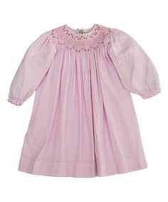 Look what I found on #zulily! Pink Diamonds Smocked Dress - Infant & Toddler #zulilyfinds