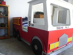 made at thisplace: fire truck bed