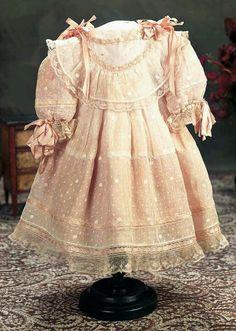 antique doll dresses  | antique doll dress