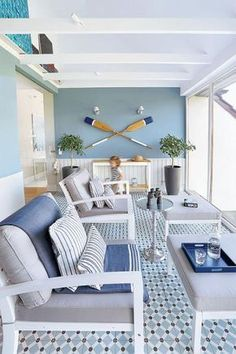 Superb nautical home decorating tips that can work with an. Superb nautical home decorating tips that can work with any person - Beach Cottage Style, Beach Cottage Decor, Coastal Cottage, Coastal Style, Coastal Decor, Beach Apartment Decor, Modern Coastal, Style At Home, Nautical Home Decorating