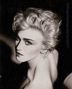 """Madonna"" by AmBr0.deviantart.com on #deviantART"