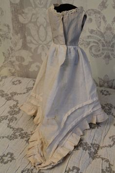 Pretty Antique Vintage French Fashion Poupee Doll 18 20"