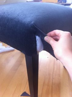 DIY: Re-Upholster Your Parsons Dining Chairs (Tips From A Pro) | For The Love of Vintage Furniture