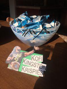 Kofi Kingston Krispies #wwe