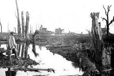 Bataille de l'Yser. En cette fin de mois d'octobre, une deuxième tentative d'inondation, fructueuse cette fois, scelle le sort de la bataille.