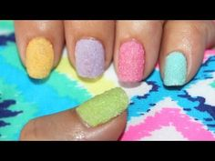 Easy nail designs for long nails and short nails to do at home for beginners nail art tutorial - YouTube