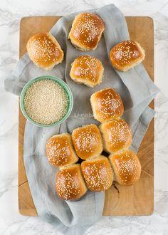 Mini sesam bolletjes - Laura's Bakery