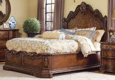 beladora tables by hooker   Hooker Furniture Beladora Queen Platform Bed SALE Ends Mar 9