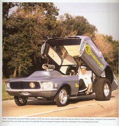 "ohio george montgomery | Ohio George"" Montgomery- 1967 lightweight fiberglass Mustang-The ..."