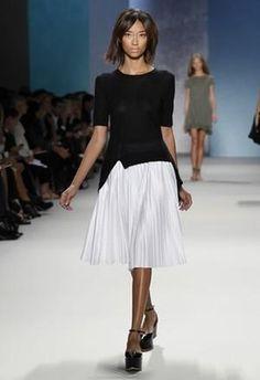 Kate Bosworth wearing Derek Lam Spring 2011 Rtw Skirt.