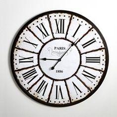 comment j ai sauv mon porte monnaie les horloges industrielles comment deco and style. Black Bedroom Furniture Sets. Home Design Ideas