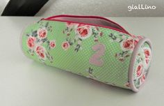 Backt to school pencil case free tutorial Ring a Rose von Gütermann