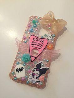 Creepy Cute, Scary, Kawaii Phone Case, Samsung S9, Kawaii Stickers, Ouija, Cute Cases, Decoden, Iphone 7 Cases