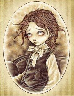 Os quiero hablar de uno de los personajes de ficción que para míes una Fuente Inagotable de Inspiración: Sasha, El Pequeño Pierrot de la Maravillosa Ilustradora Victoria Francés.Sasha es un niño m...