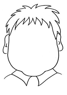 coloring page Faces on Kids-n-Fun. Coloring pages of Faces on Kids-n-Fun. More than coloring pages. At Kids-n-Fun you will always find the nicest coloring pages first! School Coloring Pages, Printable Coloring Pages, Colouring Pages, Coloring Pages For Kids, Coloring Books, Coloring Sheets, Drawing School, Drawing For Kids, Art For Kids