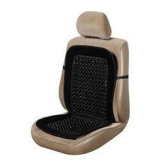 Amazon.com: Wood Bead Seat Cover Massage Cool Premium Black Comfort Cushion - Reduces Fatigue: Automotive