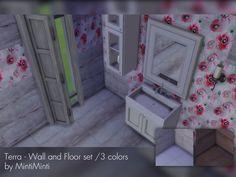 MintiMinti's Terra - Wall and floor set