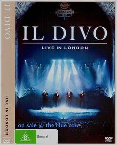 Il Divo Live In London DVD R4