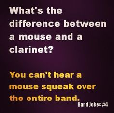 Not the biggest problem with being a clarinet player, but still a huge problem.