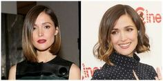 Bob haircuts remain a hairstyle trend this year. But these aren't your mother's bobs. See photos of the sexiest, classiest and coolest bobs today.: Rose Byrne: One Bob, Two Looks