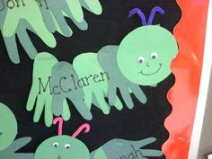 C is for Caterpillar Handprint Craft - Nashville Children''s Crafts | Examiner.com