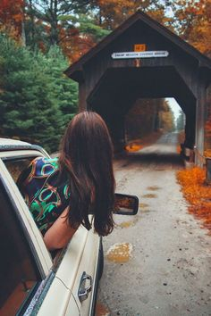 Road trip during the fall.