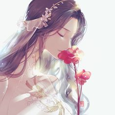 16 Ideas For Flowers Girl Pictures Anime Art Anime Art, Girl Drawing, Kawaii, Anime Lovers, Art, Anime Artwork, Anime Drawings, Anime Style, Fantasy Girl