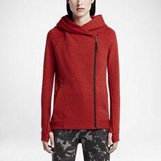 Nike Tech Fleece Women's Cape Size: Medium Color: Red, Purple, or Black Nike Tech Fleece, Athletic Outfits, Athletic Wear, Capes For Women, Active Wear For Women, Hoodies, Sweatshirts, Hooded Jacket, Nike Women