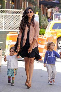 Matthew mc Camilla Alves kids