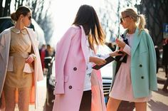 shades of spring | LE CATCH