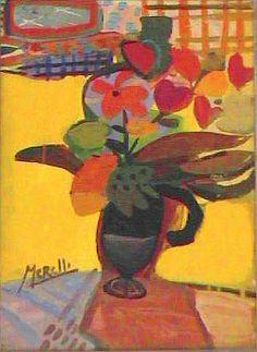 Jose Manuel Merello - Yellow Vase