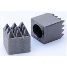 Ferronato AG eShop - Stockhammer-Einsatz 20x20/6x6M Knife Block, Drill Bit, Marble, Basket, Steel, Stones