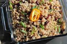 Rice Cooker Jamaican Rice And Peas (beans) Recipe.