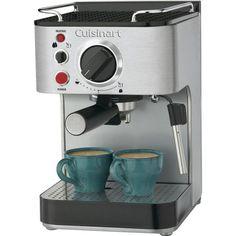 Cuisinart EM-100 Espresso Maker - http://www.teacoffeestore.com/cuisinart-em-100-espresso-maker-2/