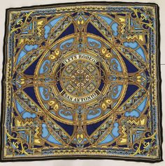 Marisol Deluna Silk Scarf Lets Rodeo San Antonio Limited Edition 60 Yrs Texas #MarisolDeluna #Scarf #Casual