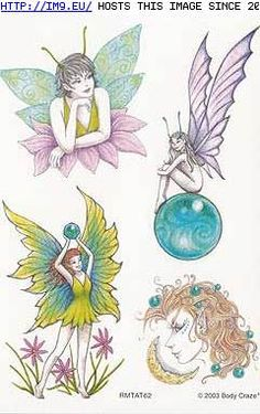 Latest Colored Fairy Tattoos Designs For Girls - Latest Colored Fairy Tattoos Designs For Girls - Fairy Tattoo Designs, Tattoo Designs For Girls, Small Tattoo Designs, Tattoo Designs Men, Fairy Pictures, Tattoos, Drawings, Fairies, Blog