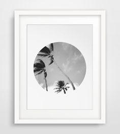 Summer Art Beach Prints Palm Trees Hawaii by MelindaWoodDesigns #palmdecor