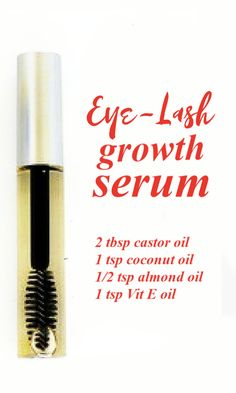 Make your own eyelash growth serum at home - get beautiful eyelashes beauty beautytips tips diy serum diybeauty selfcare 797348309009822621 Beauty Tips For Face, Beauty Secrets, Beauty Hacks, Face Tips, Beauty Products, Beauty Advice, Beauty Ideas, Beauty Guide, Diy Products