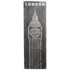 London Wall Decor - Pier1 US