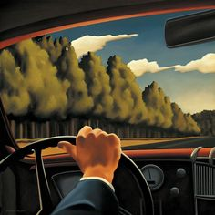 Kenton Nelson, Seemingly Cheerful