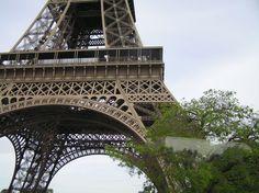 La Tour Eiffel. Détail. #Tour #Eiffel