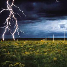 The lightning field - Walter De Maria