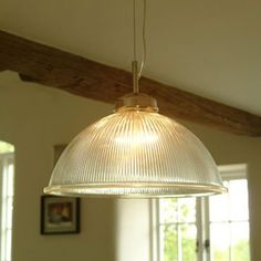 Kitchen Pendants - This Impressive Big Brother of our Standard Paris Pendant Light has a Massive 38cm Dome, Ideal for Casting an Impressive Orb of Light Over a Large Dining or