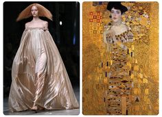 Canvasses On The Catwalk: Art-Inspired Looks From Paris Fashion Week's Spring 2013 Collections | Artinfo