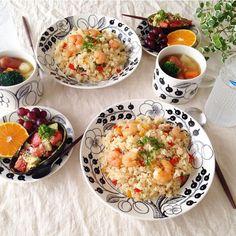 makoさんはInstagramを利用しています:「❁ おはようございます☺︎ 今朝はアボカド&タマゴのオープンサンドで簡単朝ごはん☺︎ 連休最終日💦なんだか忙しくあっという間に終わりです(꒦ິ⌑꒦ີ) 今日は絶対にのんびり過ごそうと思います♡ コメントお休みします🙏🏻…」 Japanese Dishes, Kitchen Pantry, Cheeseburger Chowder, Risotto, Menu, Soup, Breakfast, Ethnic Recipes, Plating