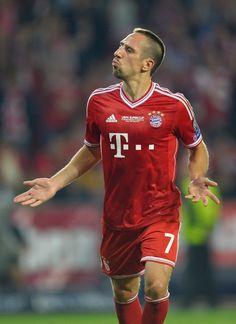 Franck Ribery #Bayern #Supercup
